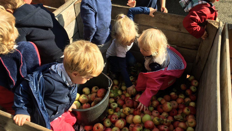 Réservez vos jus de pomme
