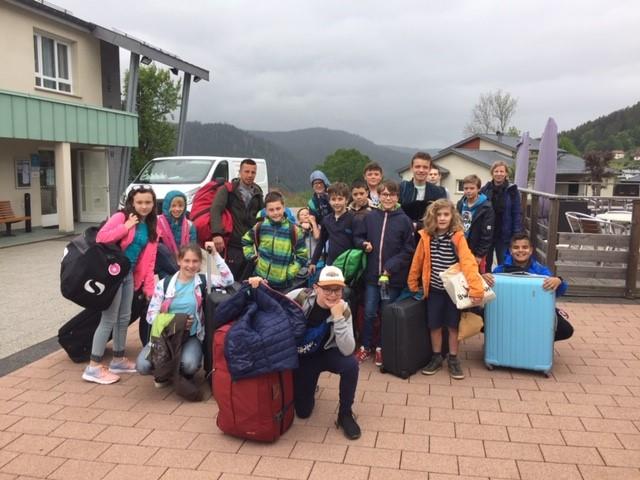 Bien arrivés dans les Vosges